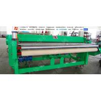 China Hige Speed Automatic Carpet Cutting Machine , Non Woven Fabric Cutter Frequency Control wholesale