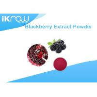 China 100% Water Soluble Powdered Herbal Extracts Blackberry Fruit Extract Powder on sale