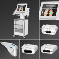 China 1.5mm , 3.0mm , 4.5mm Transducers Hifu Focused Ultrasound Machine For Face Lifting wholesale