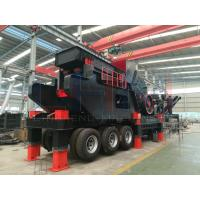 China Type1512 capacity 300 tons per hour Mobile hammer crusher wholesale