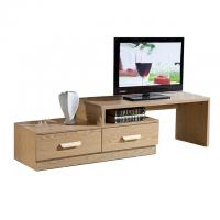 China Modern Design Living Room Solid Wood Tv Unit Laminate Particle Board For Multi Function on sale