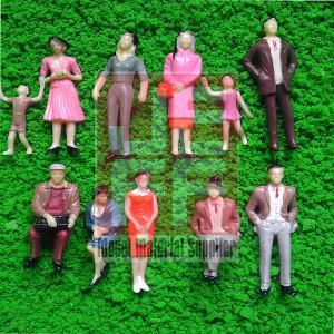 China Scale Model figure,layout mini human ABS COLOR figure PC 1/25--1/200 wholesale