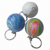 China Golf Ball with 80 to 90 Hardness, Customized Logos are Welcome wholesale