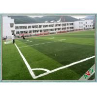 China FIFA Standard Multi - Functional Soccer Field Artificial Turf 12000 Dtex Water-Saving wholesale