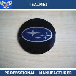 China 4 PCS Car Logo ABS Chrome Auto Part Car Wheel Sticker For Subaru wholesale
