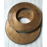 China Flat Abrasive Diamond Grit Grinding Wheel Resin Bonded Thickness 40mm Width 10mm wholesale