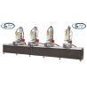 China Four Head Aluminum Window Hole Drilling Machine / Multi Mitre Combination Drilling Machine wholesale