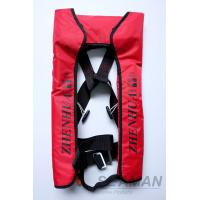 Buy cheap CCS Adult Automatic Inflatable Life Jackets Vests 210D Nylon TPU Coating 150N Lifejacket from wholesalers