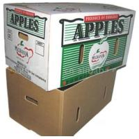 China corrugated box for packing apples wholesale