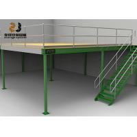China Durable Industrial Mezzanine Floors / Boltless Rivet Shelving 5 Years Warranty wholesale