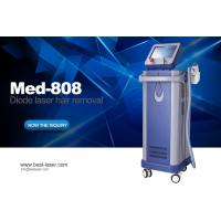 China Kes New Tech Active TEC Cooling 808nm Permanent Diode Laser Hair Removal With Germany Laser Bars wholesale