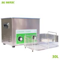 China Electronics Industrial Ultrasonic Cleaner 30L for Computer Monitor Keyboards Cleaning 40khz wholesale