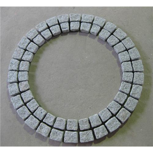 Quality G603 paving stone on mesh for sale