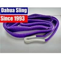 Soft Duplex Polyester Flat lifting Slings , 1 Ton Load Capacity