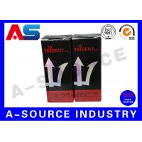 Buy cheap 10ml Vial Boxes For Pharmaceutical Glass Vials Testosterone Printing from wholesalers