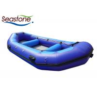 China Light Weight White Water Rafting Boat Excellent Load Capacity Hand Stitched wholesale
