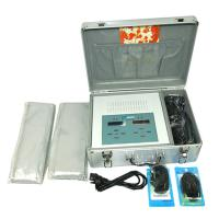 China Dual Portable Detox Foot Spa Machine With Two FIR Belts And Two Arrays Effective And Easy Detoxification wholesale