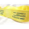 China Eco - Friendly Narrow Nylon Elastic Woven Tape Woven Name Tapes 30D / 50D / 100D Yarn wholesale