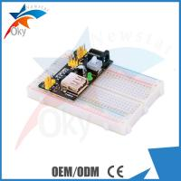 China 5V / 3.3V 830 Points Breadboard For Arduino , MB-102 Electronic Breadboard wholesale