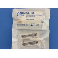 Reusable Pet Tracking Microchip , 1.4*8mm Identity Chip For Dogs 10 Years Guarantee