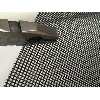 China Window screen black powder coating stainless steel woven wire mesh on sale