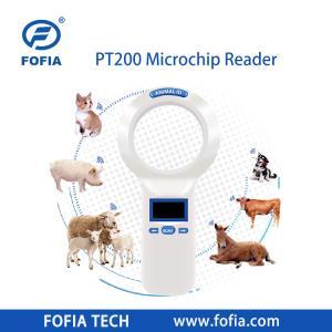 China Mini ICAR Certified Pet Rfid Reader Animal Microchip Reading 134.2khz LF wholesale