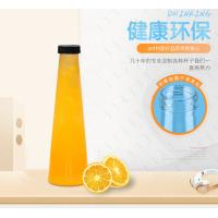 Buy cheap 450ml 500ml Clear Plastic Juice Bottles Enviromently Friendly Uv Printing from wholesalers