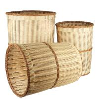 China seagrass/bamboo/wicker/PE rattan/wood chip/reed basket wholesale