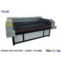 China Auto Feeder Four Laser Heads Fabric Laser Cutting Machine For Multi Picture Engraving wholesale