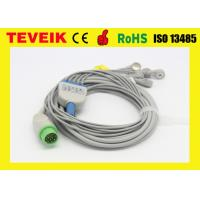 China Biolight 5 leads ECG patient cable for patient monitor 12ft with snap wholesale