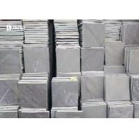 China Grey Slate Paving Stones Floor Tiles For Outdoor Corridors / Basement wholesale