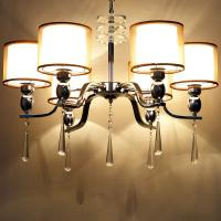 China Metal drum shade chandelier for home lighting fixtures (WH-MI-54) on sale