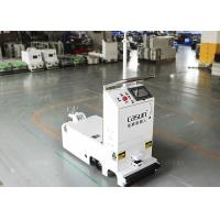 China Traction Unidirectional Tugger AGV Towing Vehicle With Laser Obstacle Sensor wholesale