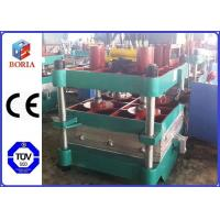 China PLC Controlled Rubber Tile Making Machine Automatic Temperature Control on sale