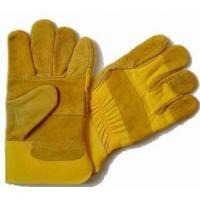 China Economic Cow Leather Working Glove wholesale