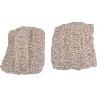 China Cleaning Sponge 15 X 10cm Eco - Friendly Natural Sisal Bath Mitt / Body Scrubber wholesale