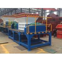 China Iron Metal Shredder portable shredding plant mobile shredder plant tyre recycling machine Industrial Recycling wholesale