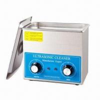 China Mechanical Ultrasonic Cavitation Cleaner, 3L, OEM Orders are Welcome wholesale