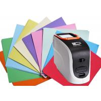 China Xenon Lamp Sensor Portable Color Spectrophotometer 20000 Test Results Data Storage on sale