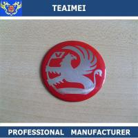 China Metal Aluminum Car Badge Stickers Car Side Body Stickers Flexible wholesale