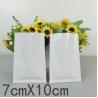 7 * 10 cm Plastic Sleeves Plastic Blister Packaging White / Black / Blue / Green Colors