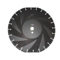 China Vacuum Brazed Diamond Saw Blades / Diamond Disc Cutter Blades For Fire Fighting wholesale