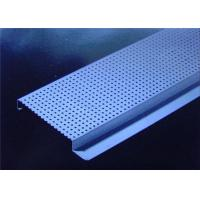 China Internal / External Linear Metal Strip Ceiling Anti - Corrosion For Office Buildings wholesale