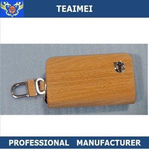 China Promotional Custom Kia / Volvo Leather Key Holder Key Chain Bag wholesale