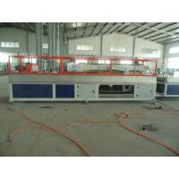 China PE PP WPC Wall Panel / Decking Plastic Profile Production Line wholesale