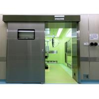 China Medical Operating Room Automatic Hermetic Sliding Door Stainless Steel on sale