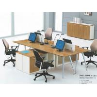 China modern 4 seater office workstation table furniture in warehouse in Foshan wholesale