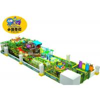 China Customized Naughty Castle Attractive Commercial Indoor Play Structures Anti - UV Non - Fade wholesale