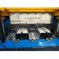 0.8 - 1.5mm Thickness Floor Deck Roll Forming Machine CNC Roll Forming Machine