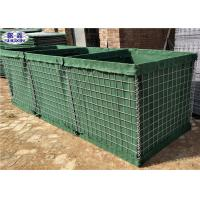 Buy cheap 1*1*1.4M 3 Cells Military Hesco Bastion Barrier For Denfensive Department from wholesalers